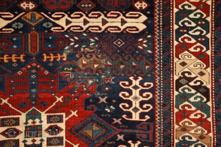 """""""When I have a terrible need of - shall I say the word - religion. Then I go out and paint the stars."""" Vincent Van Gogh  Kuba rug with unusual design,  ..."""