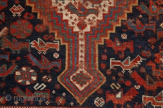 "Monumental Khamseh ""Bird"" carpet, 380x195 cm ! , never senn this kind of rug in that size earlier... The quality is perfect from every point of view, wool, colors...
