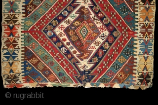 Malatya - Rashwan kilim, 175x320 cm, mid. 19th century
