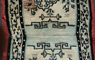 Tibetan Saddle Cover, 19th cen. (4th quarter)