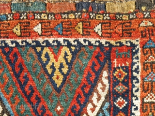 Though united by language and culture for well over one-thousand years the weavings of the Kurds of eastern Anatolia and neighboring northwest Persia during the nineteenth century can very seldom be confused.  ...
