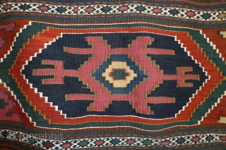 Great, NW Persian mafrash, late 19th century.  All good colors and in perfect condition.  I have owned it for 20 years.  Selvedge seems to be redone, but with high  ...