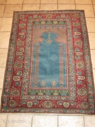 Anatolian Kayseri Prayer Rug