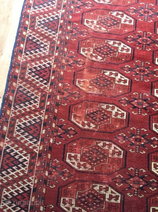 TURKMEN KIZILAYAK 2,00 BY 3,00 METER VERY FINE CARPET