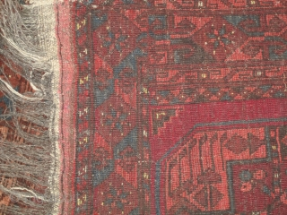 TURKMEN PRAYER RUG