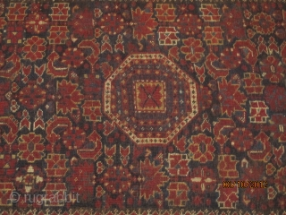 19 th very fine old BESHIR carpet