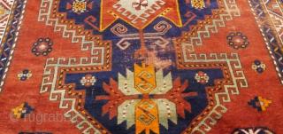 Beuatiful Large Kazak (Lori Pambak) circa 1920 Size: 277 x 170 cm.