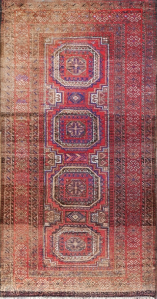 Salor Beluch Rug 6.4 x 3.2 feet