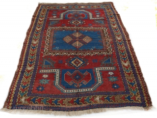 Late 19th or early 20th century Fachralo ca.203 x 150cm  Some repairs but reasonably priced  Double or reverse mihrab in live colors. As befits a Fachralo, quite a charismatic piece   Sold Thank  ...