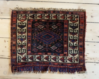 A beautiful Afshar bag face Lustrous wool Nearly perfect condition 53x42cm