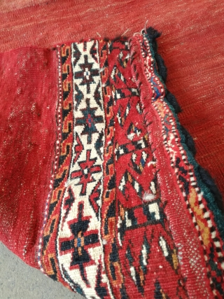 An old Turkmen bag with 140/120 cm in exellent condition.