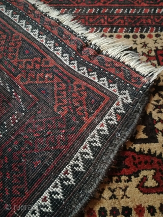 Old Baluch rug with 160/90 cm in good shape.
