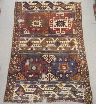 Antique Caucasian Fragment Size.182x125cm