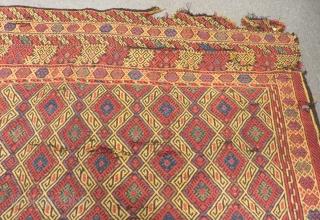 Antique Anatolian Toros Cicim Size.300x205cm