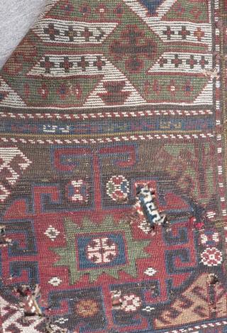 Antique Caucasian Fragment Size.182x125cm