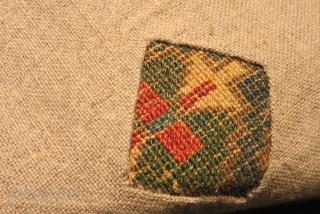 Antique Saucbulak bagface Size.43x42cm
