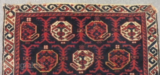 Antique Avşar bagface Size.62x46cm