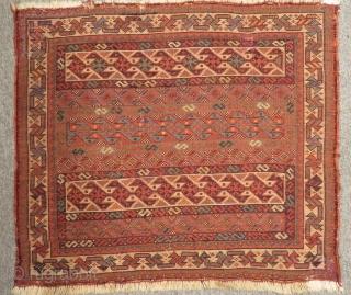 Antique Qashqaii bagface Size.61x53cm