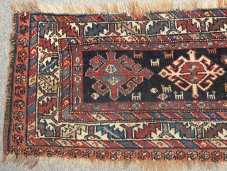 Antique Persian Veramin Torba Size.100x43cm