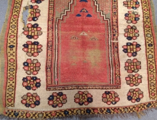West Anatolian Manastır Prayer Rug Size166x122cm