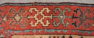 Early 19th Century East Anatolian Sivas Rug Size.190x118 Cm