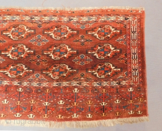 Antique Türkmen Yamud Chuval All Colours Natural Size.135x87 Cm
