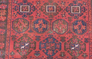 Antique Baluch Carpet Size.146x105cm