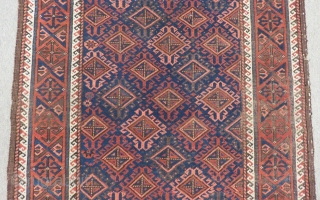Antique Baluch Carpet Size.150x102cm