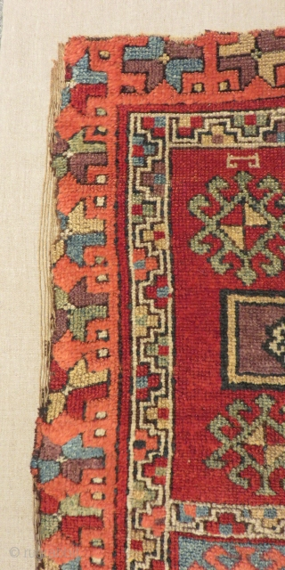 Antique East Anatolian Sivas Carpet Size.173x103cm