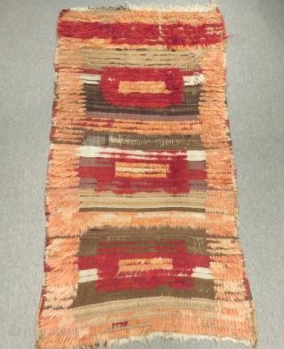 Early 19th C East Anatolian Tulu Size.165x90cm