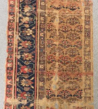 Antique Persian Kurdish Runner Rug Size.385x72cm