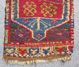 Mid 19th Century Konya Cihanbeyli Yastık Size.90x38 Cm
