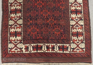 Antique Baluch Rug Size.180x105 Cm