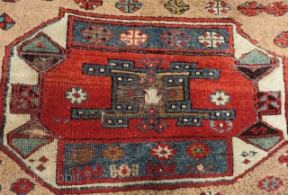 Early 19th Century East Anatolian Rug Size.190x118 Cm