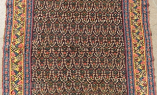 Antique Persian Sine Kilim Size.180x128cm