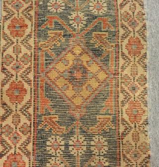 Antique Nort West Persian fragment Size.70x33Cm