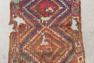 Antique East Anatolian Sivas Carpet Size.245x112cm
