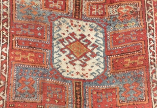 Antique East Anatolian Erzurum Carpet Size .350x140cm
