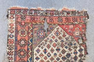 Antique West Anatolian Karakeçili Carpet fragment Size.190x82cm