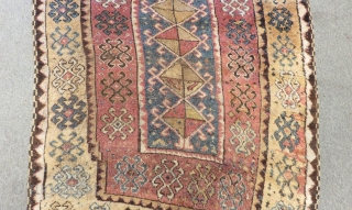 Antique East Anatolian Erzurum Carpet Size.355x125cm