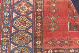 Antique Caucasian Tree Of live Karabagh Rug Size.200x158cm