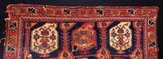 Antique Persian Avshar Bagface Size.70x45 Cm