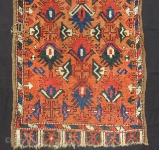 Early 19th Century Cenral Anatolian Yastık Size.110x67 Cm