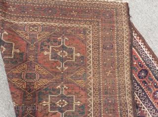 Antique Baluch Carpet Size.192x110cm