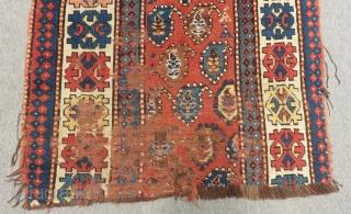 Antique Caucasian Karabakh Carpet fragment Size.250x98cm