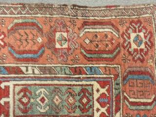 Antique Central Anatolian Konya Carpet Size.148x106