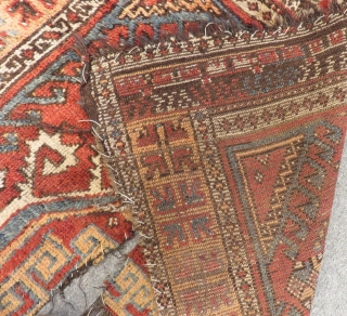 Antique Central Anatolian Konya Yatak Carpet Size.165x120cm