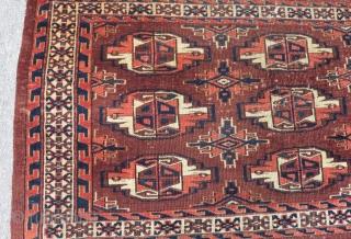 Antique Türkmen Yamud Cuval Size.105x66cm