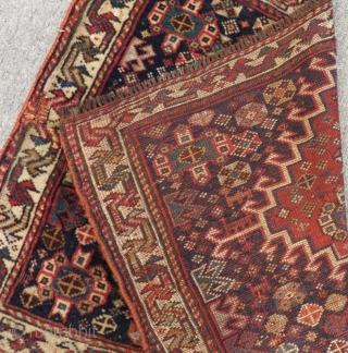 Antique Qashqai Bagface Size.68x52cm
