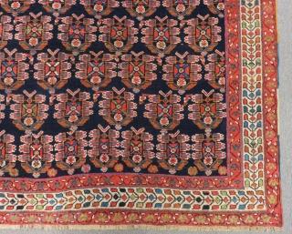 Antique Afshar Rug All Colours Natural Circa 1880.90 Size.130x120 Cm